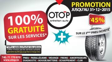 Promotion OTOP Charguia sur les pneus