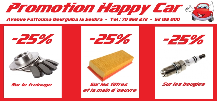 Promo happy car 1