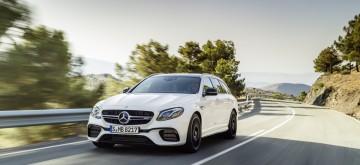 Les nouveaux breaks Mercedes-AMG E 63 4MATIC+ et E 63 S 4MATIC+