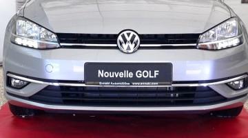 Présentation et prix de la nouvelle Volkswagen Golf restylée