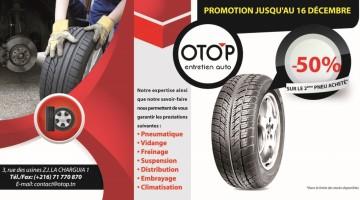 Promo pneu OTOP