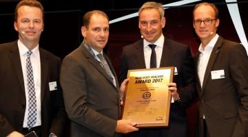 Alpha Bus Tunisie a reçu le Prix du meilleur carrossier bus MAN dans la catégorie « Croissance » lors du Salon BusWorld 2017