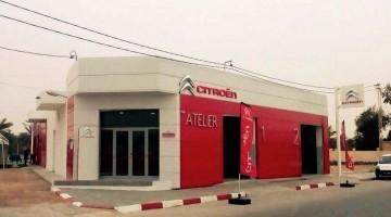Inauguration d'un nouveau Réparateur Agréé Citroën à Kébili 2