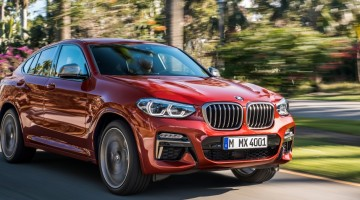 Le nouveau SUV coupé premium BMW X4
