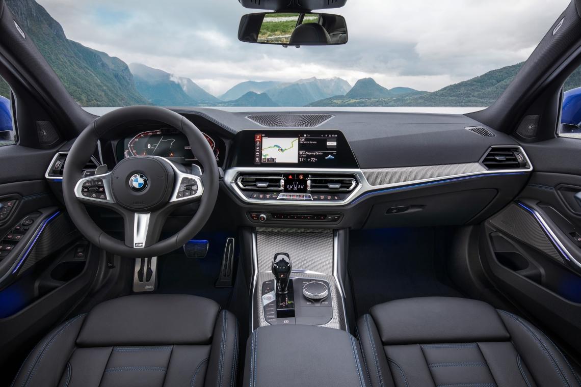 Présentation de la nouvelle BMW Série 3 Berline (12)
