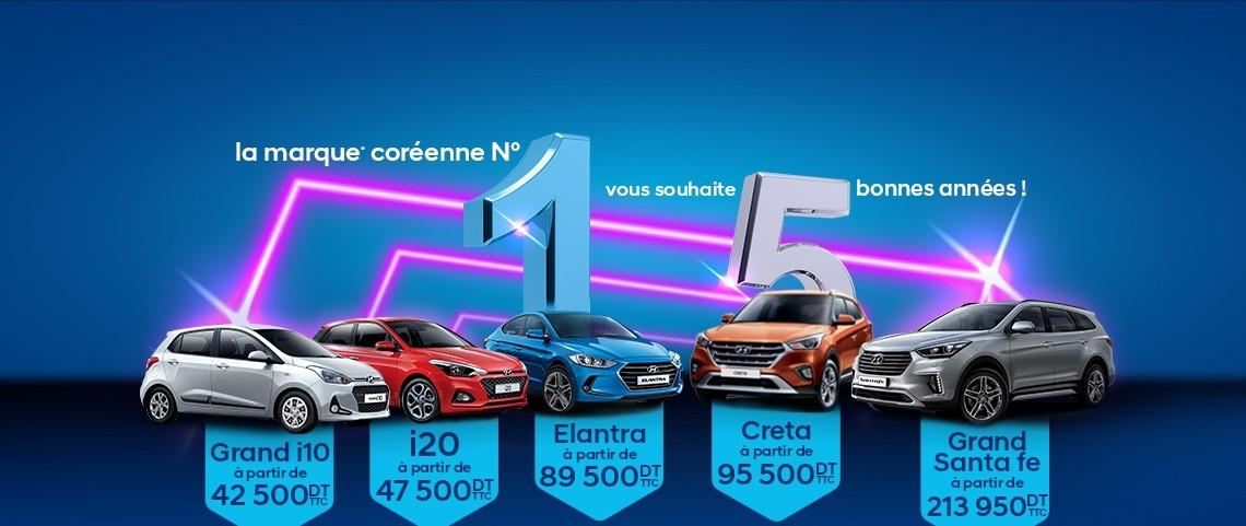 Hyundai prend la tête des ventes