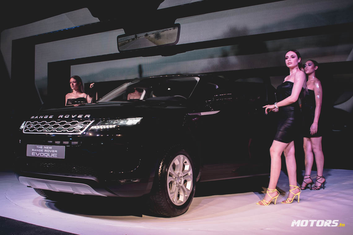 LE NOUVEAU RANGE ROVER EVOQUE ARRIVE AU SHOWROOM D'ALPHA INTERNATIONAL TUNISIE (14)