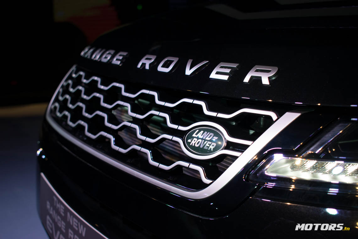 LE NOUVEAU RANGE ROVER EVOQUE ARRIVE AU SHOWROOM D'ALPHA INTERNATIONAL TUNISIE (20)