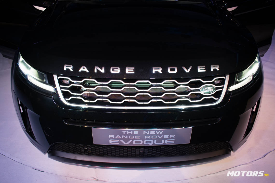 LE NOUVEAU RANGE ROVER EVOQUE ARRIVE AU SHOWROOM D'ALPHA INTERNATIONAL TUNISIE (22)