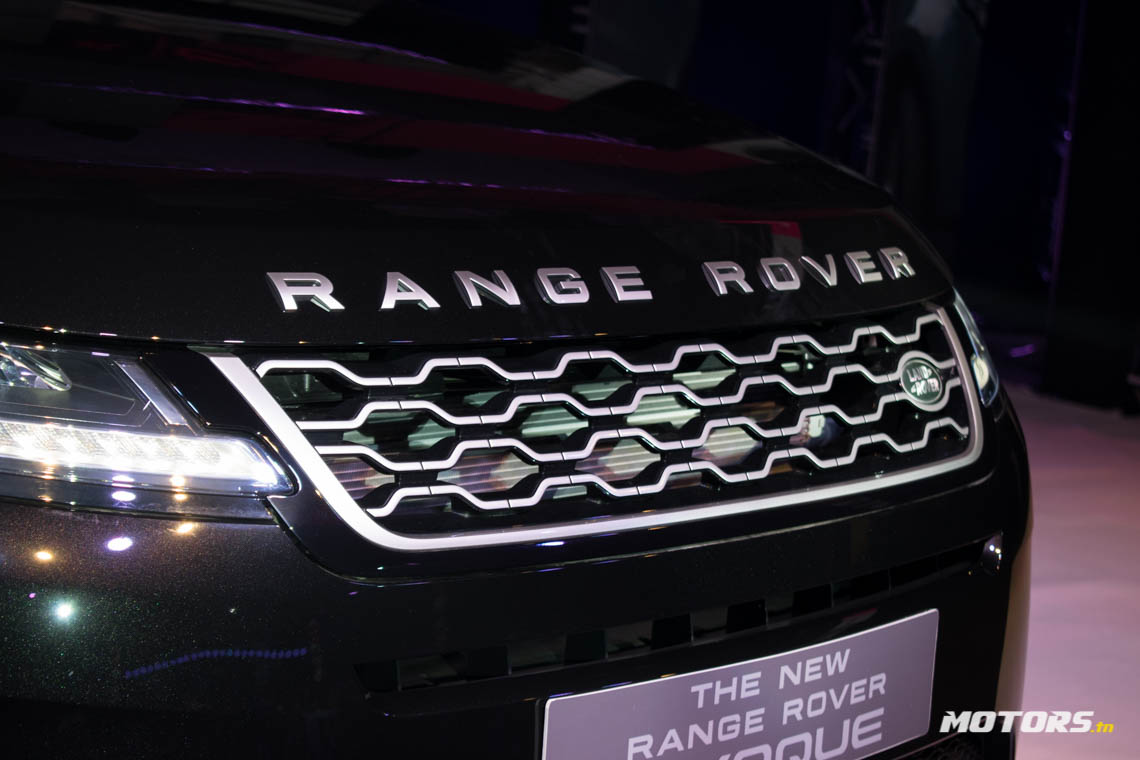 LE NOUVEAU RANGE ROVER EVOQUE ARRIVE AU SHOWROOM D'ALPHA INTERNATIONAL TUNISIE (46)