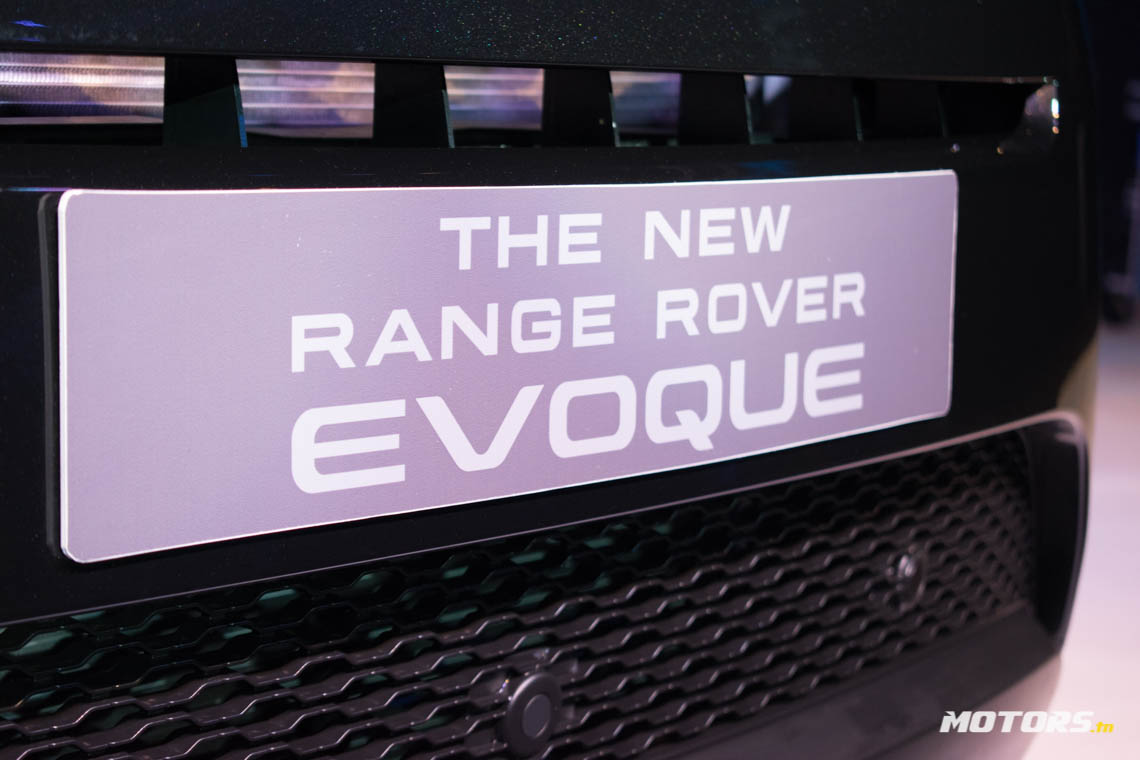 LE NOUVEAU RANGE ROVER EVOQUE ARRIVE AU SHOWROOM D'ALPHA INTERNATIONAL TUNISIE (47)