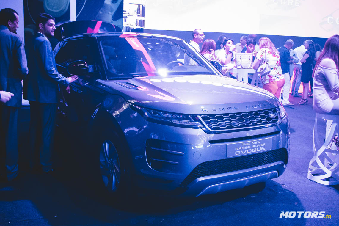 LE NOUVEAU RANGE ROVER EVOQUE ARRIVE AU SHOWROOM D'ALPHA INTERNATIONAL TUNISIE (60)