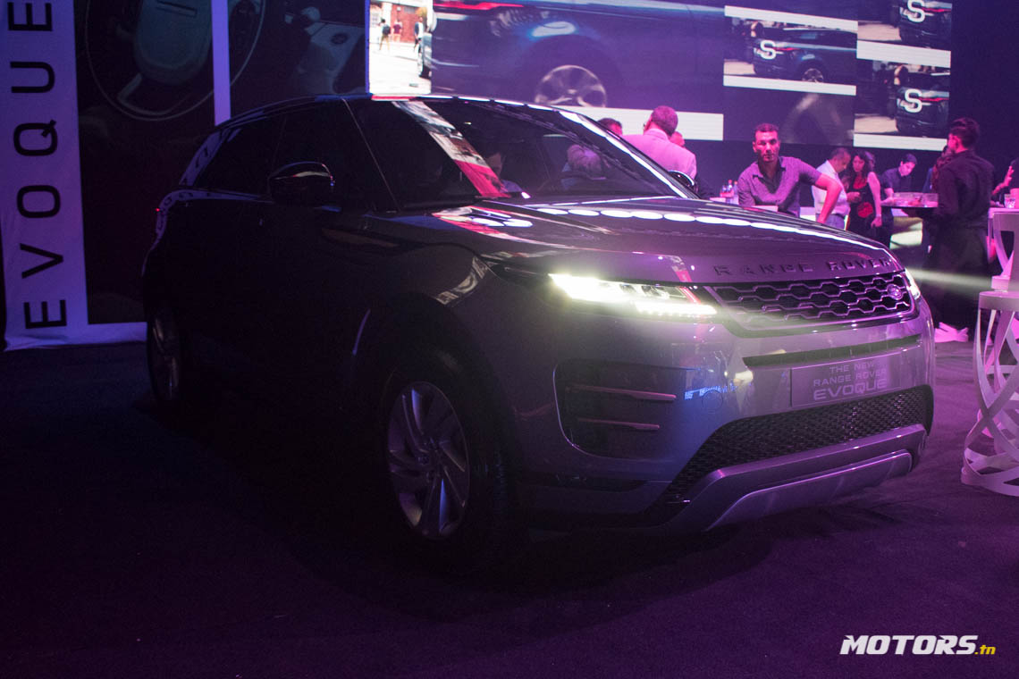 LE NOUVEAU RANGE ROVER EVOQUE ARRIVE AU SHOWROOM D'ALPHA INTERNATIONAL TUNISIE (67)