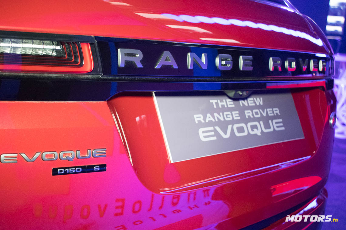 LE NOUVEAU RANGE ROVER EVOQUE ARRIVE AU SHOWROOM D'ALPHA INTERNATIONAL TUNISIE (72)