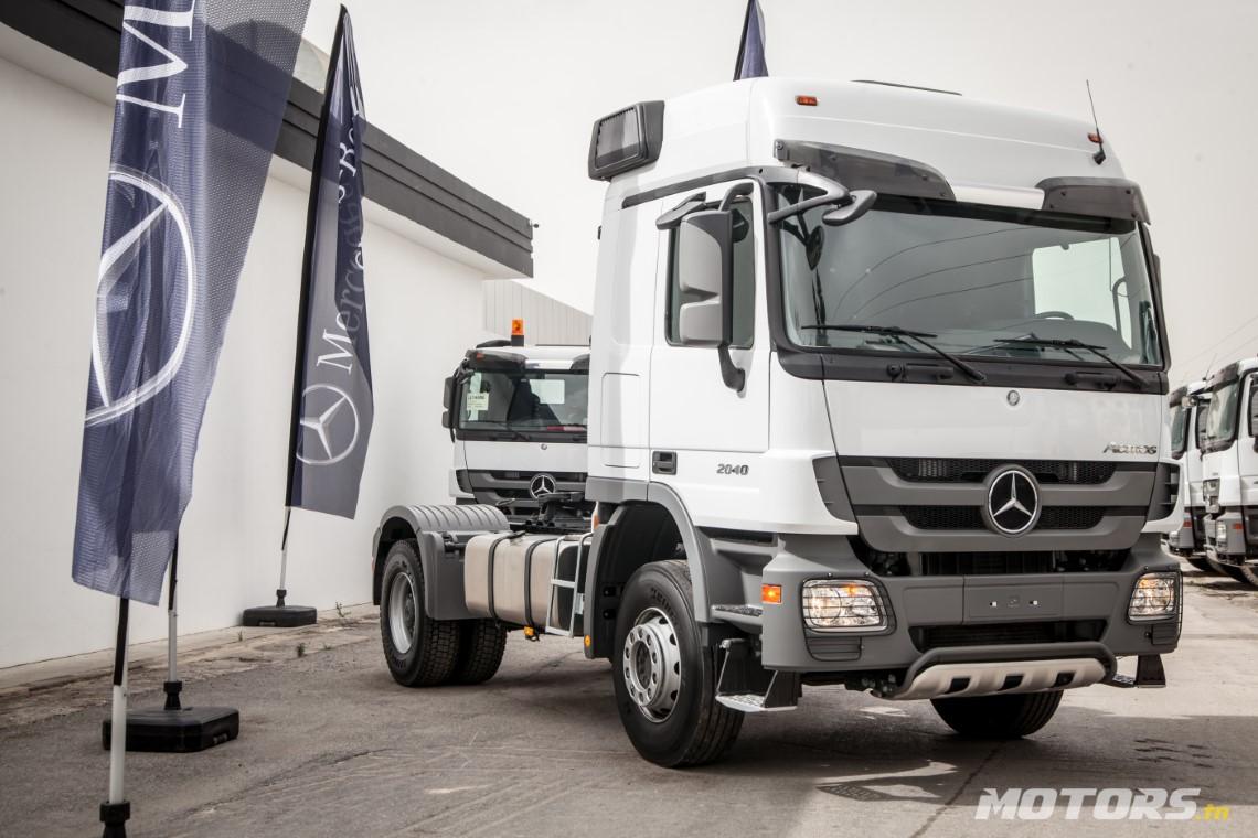 Présentation du Camion Mercedes Benz Actros 4X2 Tracteur routier 2040 S Tunisie (2)