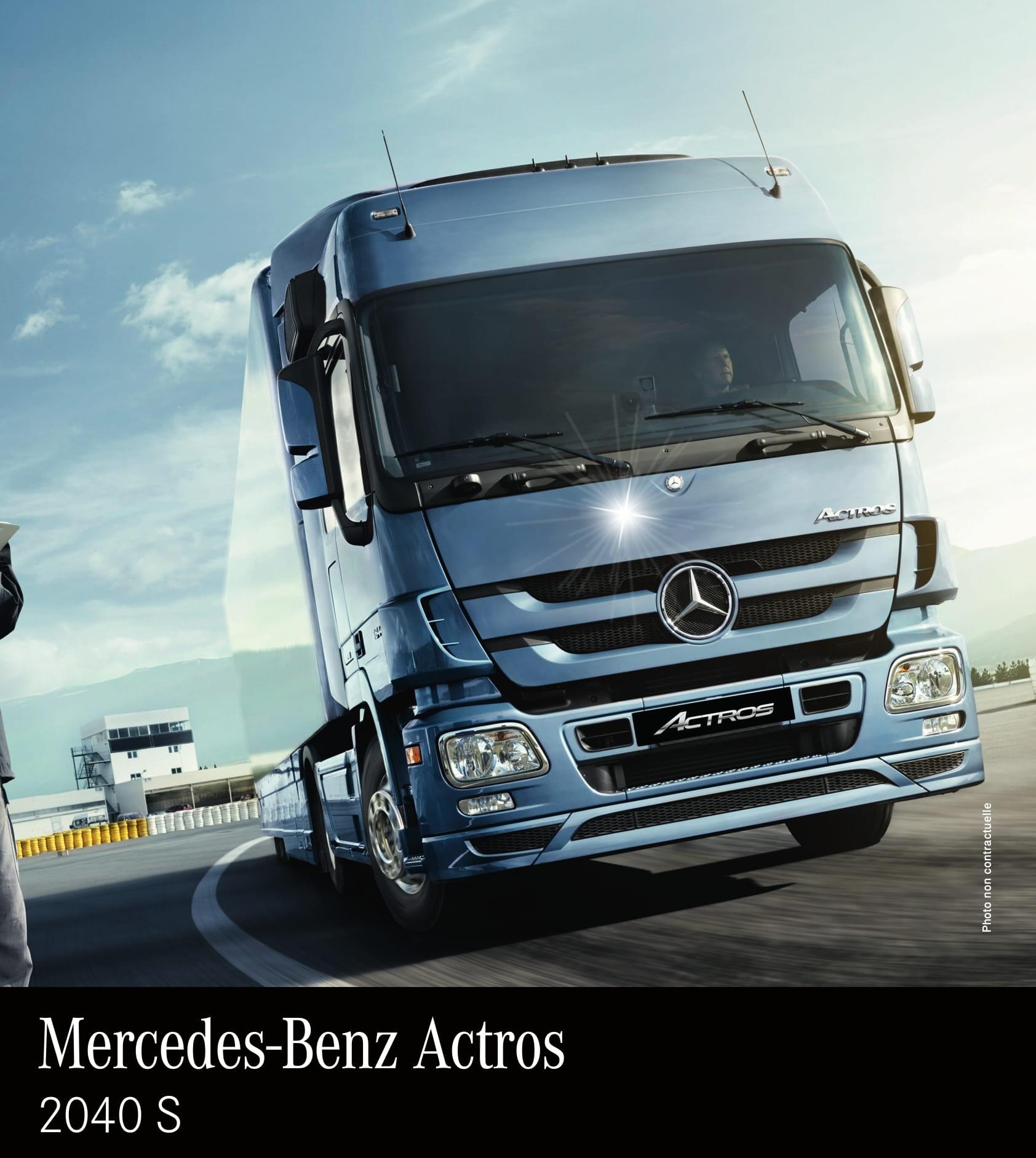 Prix camion Mercedes-Benz-Actros-2040S-Tracteur-routier-Tunisie