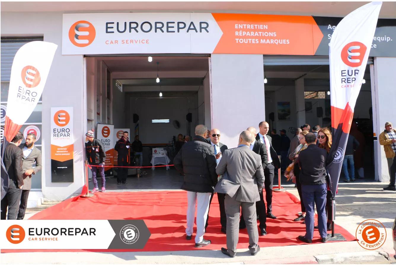 INAUGURATION OFFICIELLE DU NOUVEAU EUROREPAR CAR SERVICE SIDI HASSINE -   (3)
