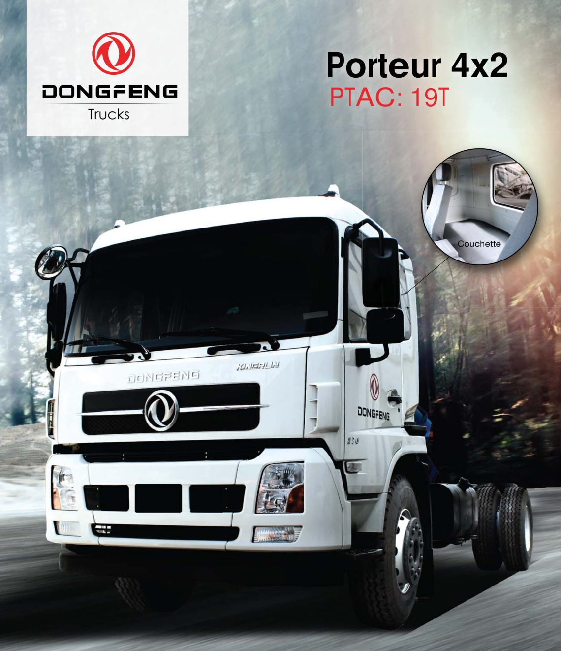 Prix camion Dongfeng Porteur 4×2 neuf Tunisie