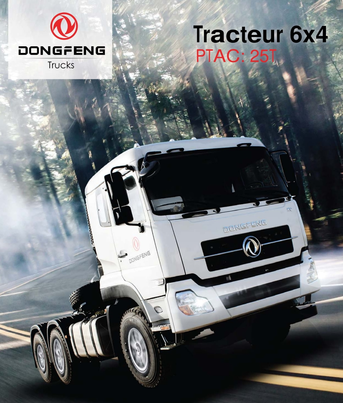 Prix camion Dongfeng Tracteur 6×4 neuf Tunisie